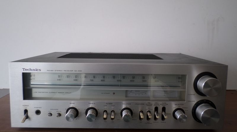 TECHNİCS ... SA-400 STEREO RECEIVER