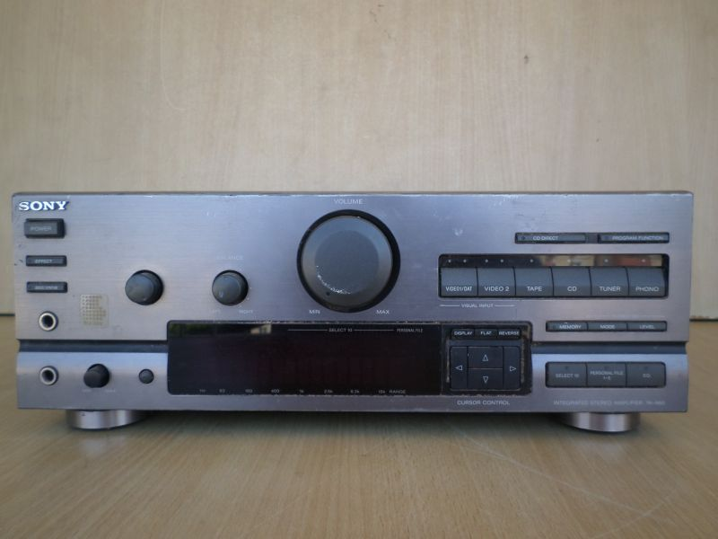 SONY ... TA-A60 INTEGRATED SREREO AMPLIFIER