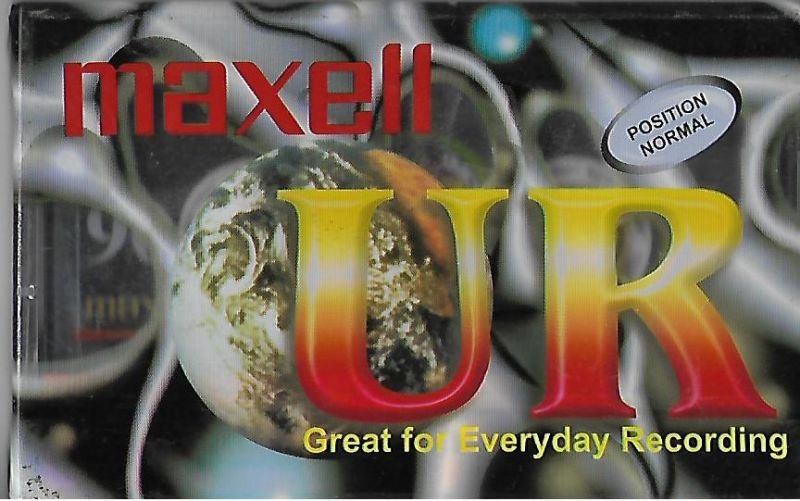 MAXELL ... UR Great for Everyday Recording . 90 dakika